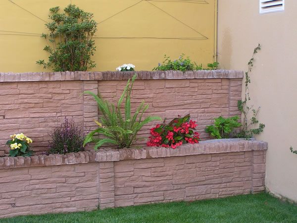 Decoland producciones for Bordillos de hormigon para jardin