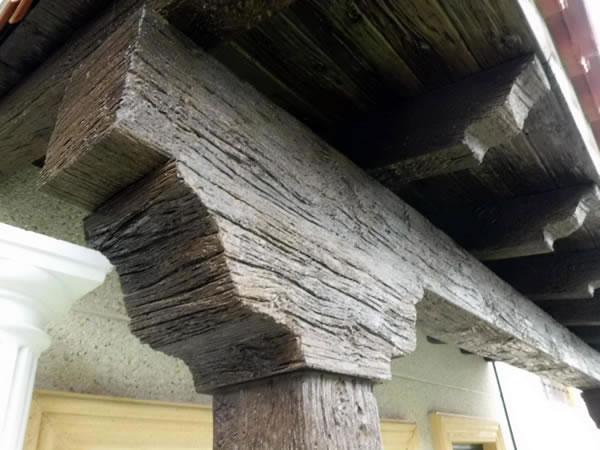 Decoland producciones - Viga imitacion madera ...